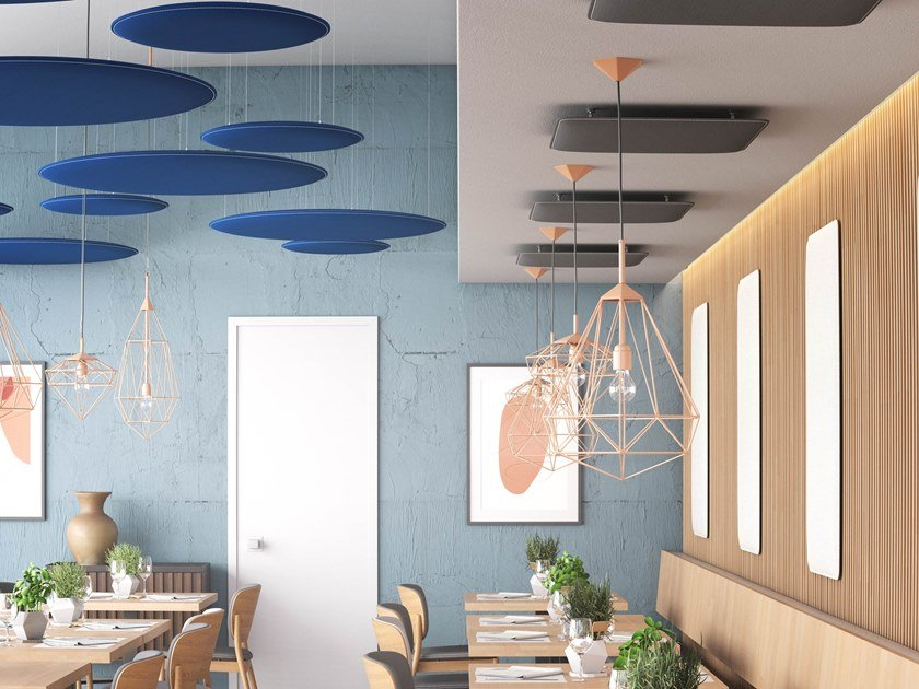 Pannelli decorativi fonoassorbenti in PET riciclato PHONOLOOK DESIGN ECO by ETERNO IVICA