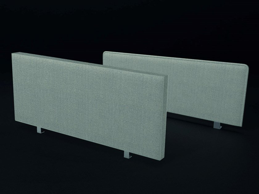 Pannello divisorio da scrivania fonoassorbente in tessuto PHONOLOOK DESK by ETERNO IVICA