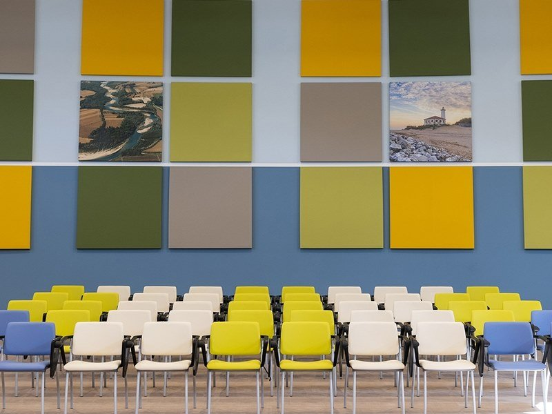 Decorative acoustic panel PHONOLOOK SOLUTION by ETERNO IVICA