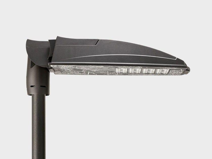 LED aluminium street lamp PHOS PLUS POLE SYSTEM by Cariboni group