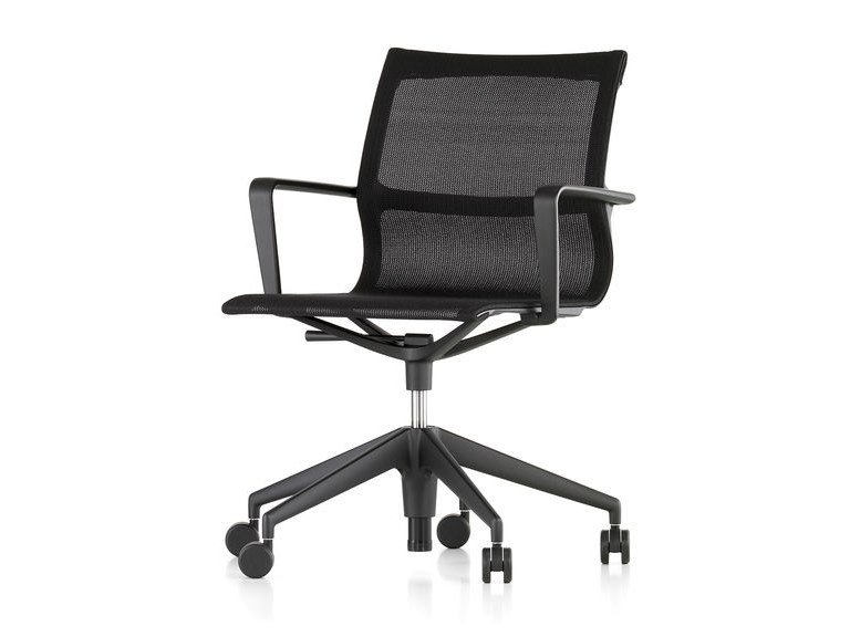 Swivel fabric office chair PHYSIX STUDIO by Vitra