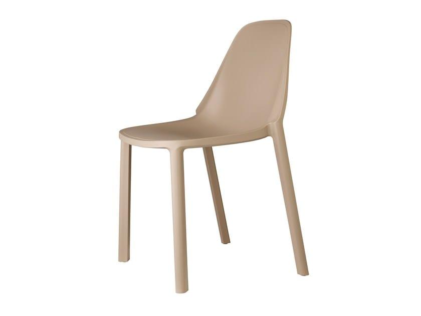 Sedia in tecnopolimero PIÙ | Sedia by SCAB DESIGN