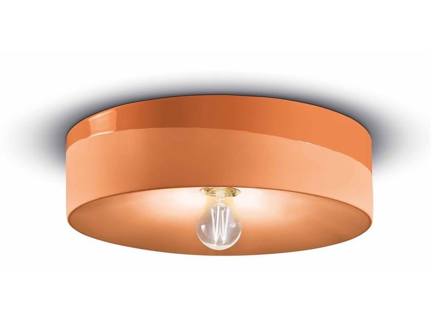 Lampada da parete / lampada da soffitto in ceramica PI C1792 by FERROLUCE