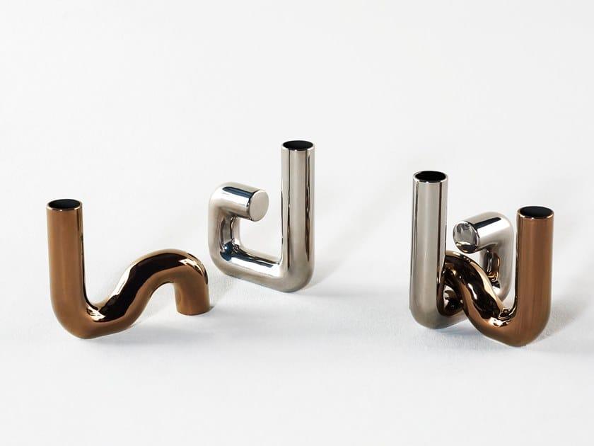 Ceramic vase PI-DOU by Tacchini Edizioni