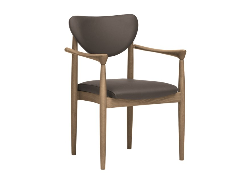 Chair with armrests PIA | CONTRACT | Chair with armrests by PIAVAL