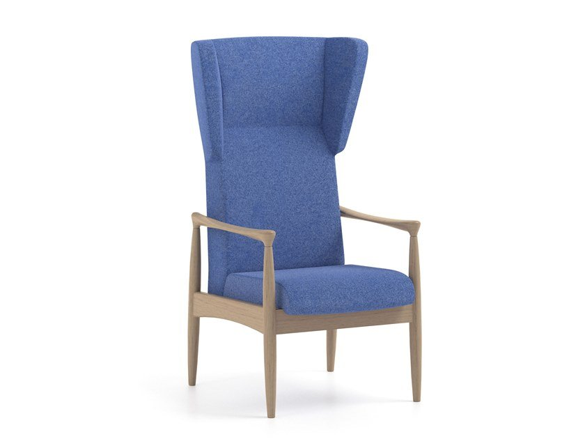 High-back fabric armchair PIA | HEALTH & CARE | High-back armchair by PIAVAL