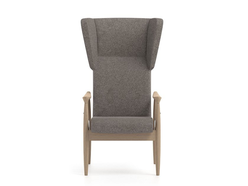 Recliner fabric armchair with armrests PIA | HEALTH & CARE | Recliner armchair by PIAVAL