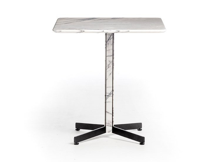 Square marble table PIANA MARBLE M   Square table by arrmet