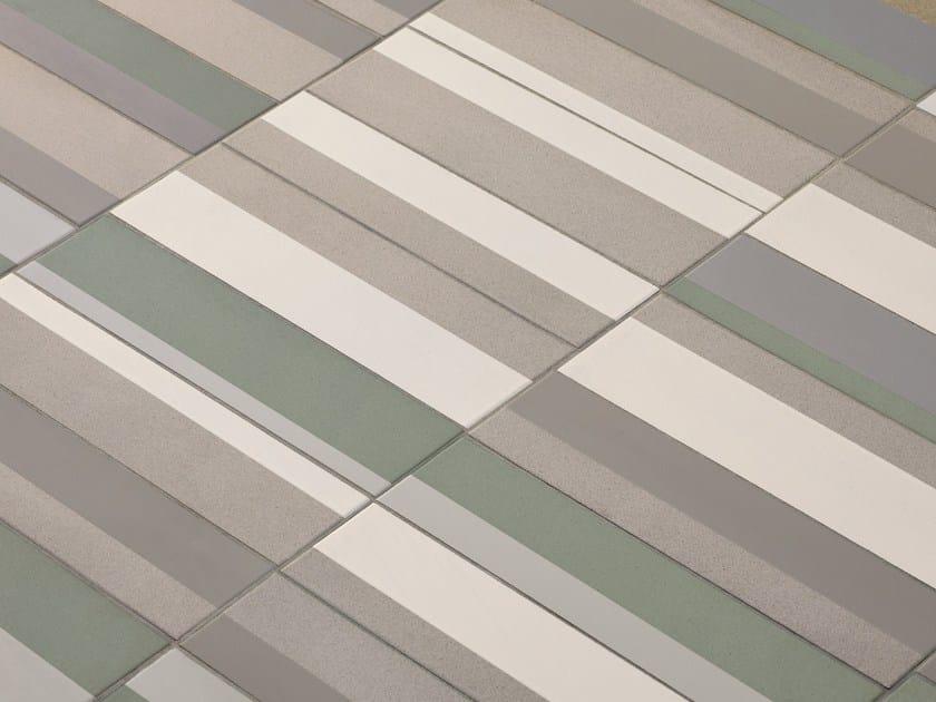 Revêtement de sol/mur en grès cérame émaillé PIANO by MUTINA