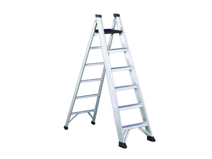 Aluminium heavy duty ladder PIANO P2 by SVELT