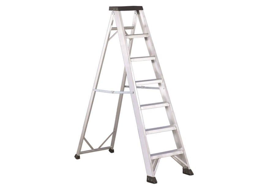 Aluminium heavy duty ladder PIANO P3 by SVELT
