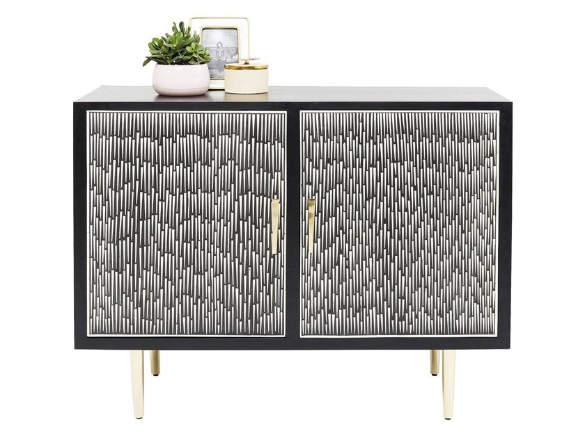 MDF sideboard with doors PIANO | Sideboard by KARE-DESIGN