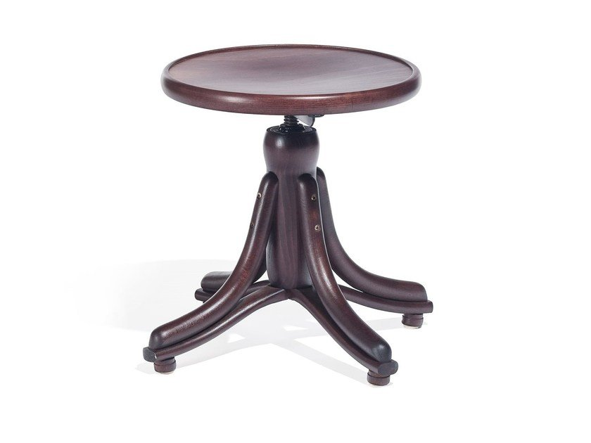 Wooden stool PIANO | Wooden stool by TON