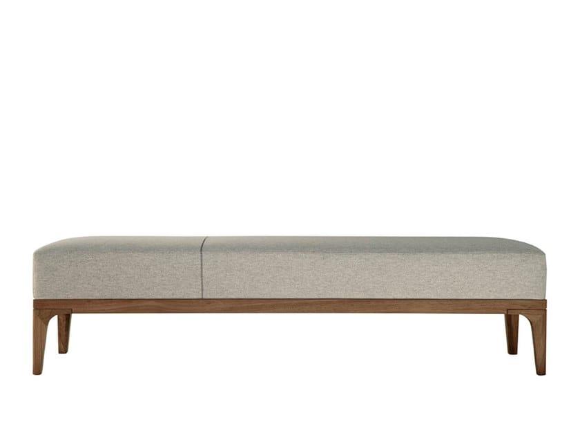Upholstered fabric bench PIANPIAN | Bench by HC28