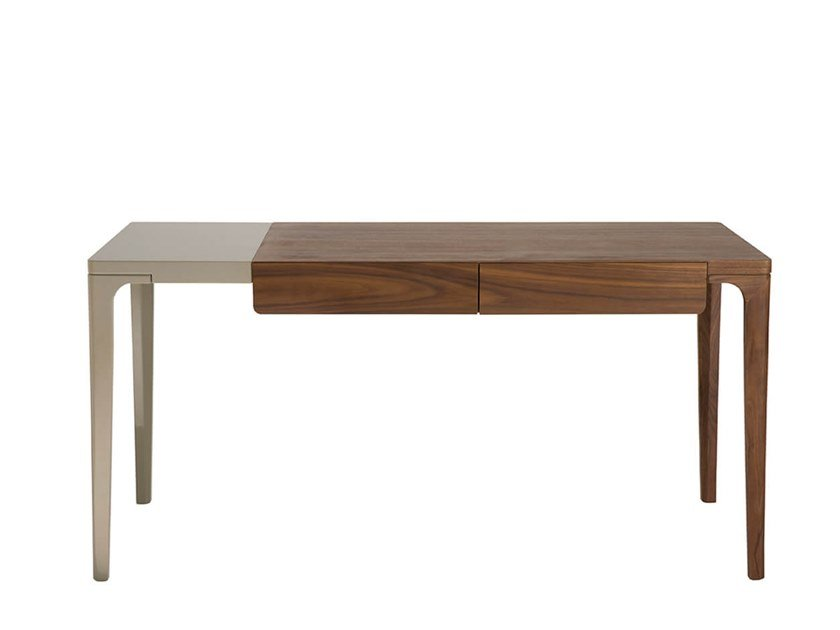 Rectangular writing desk with drawers PIANPIAN | Writing desk by HC28