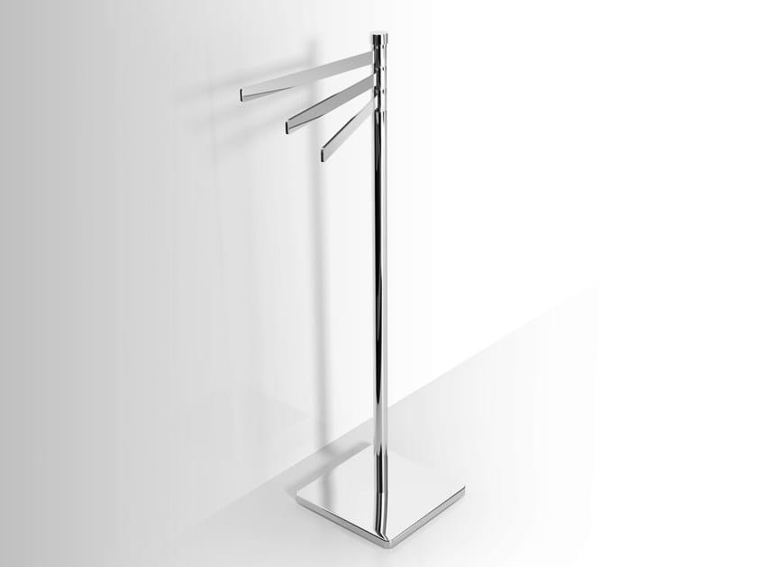 Standing metal towel rack Standing towel rack by Alna