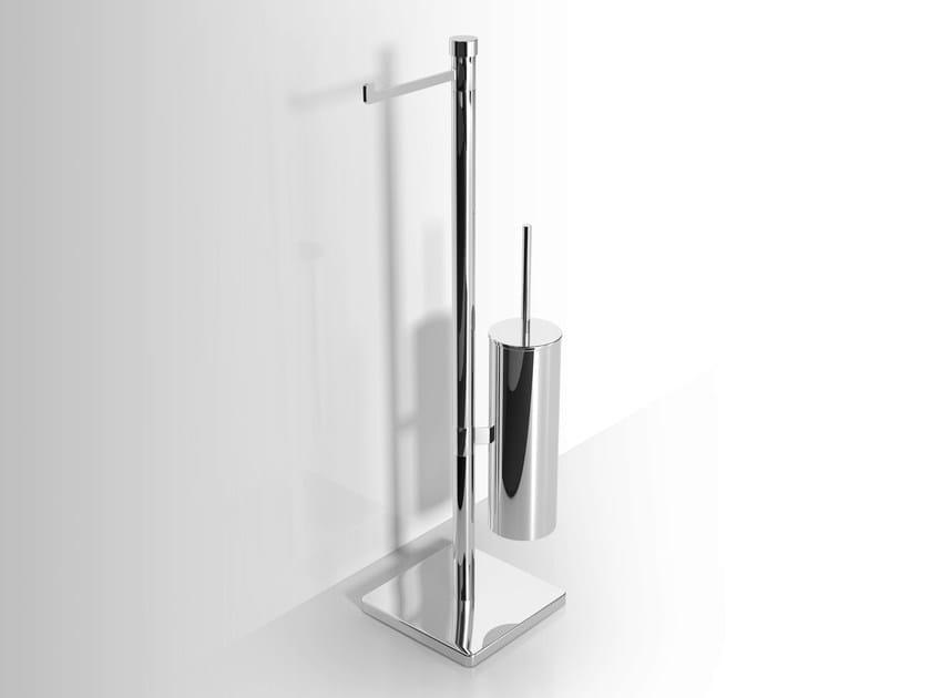 Metal toilet roll holder / toilet brush Toilet brush by Alna