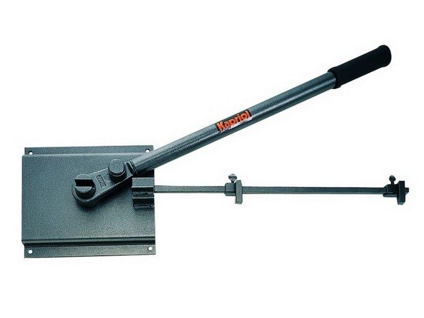 Steel bending machines PIASTRA PIEGASTAFFE CON MANICO by KAPRIOL