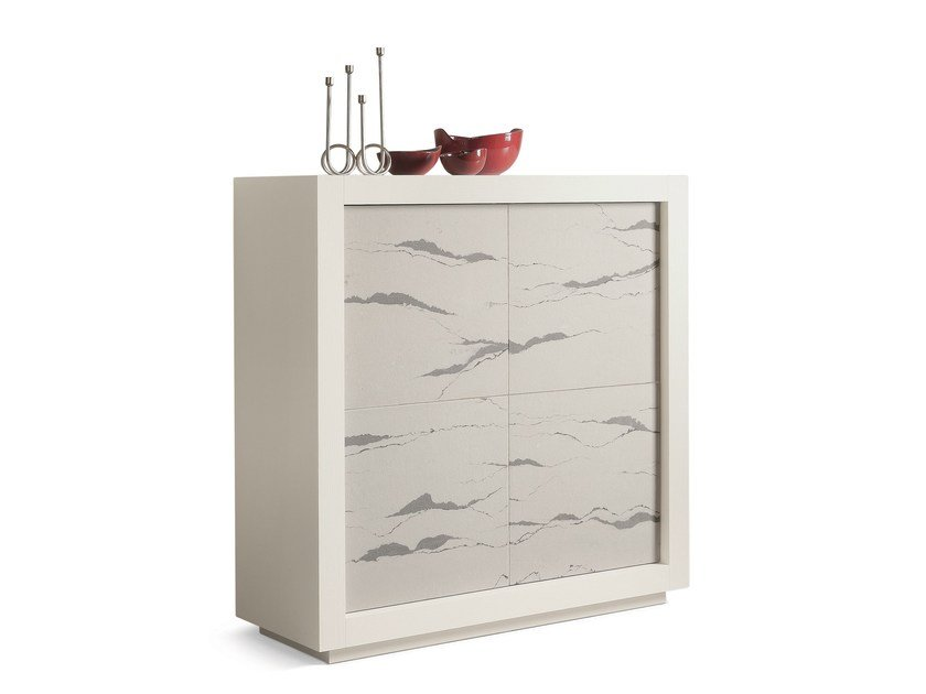 Highboard with doors PICASSO P2 ARABIK by RIFLESSI
