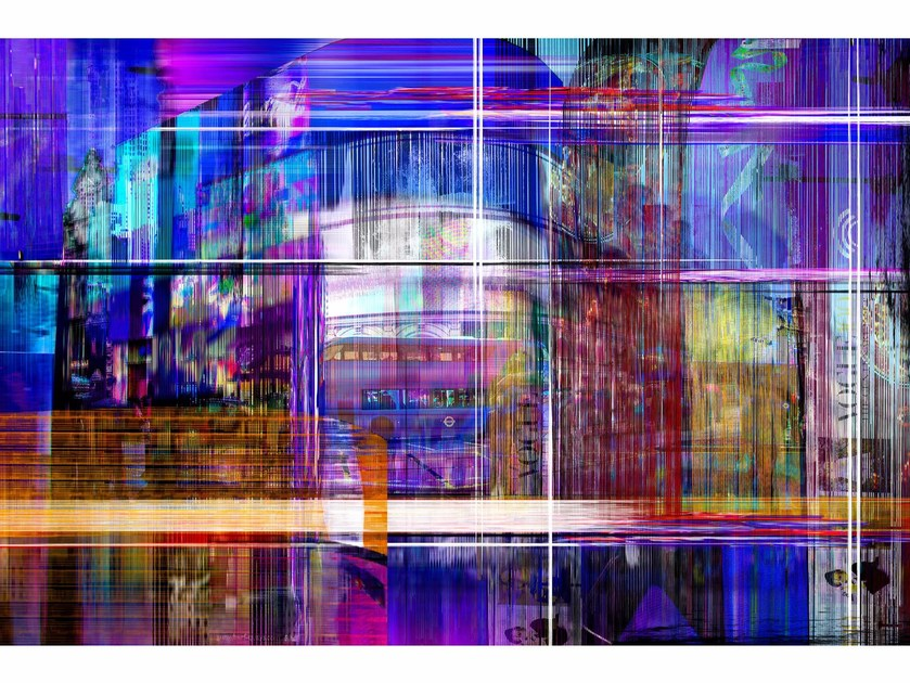 Photographic print PICCADILLY PARADOX by 99 Limited Editions