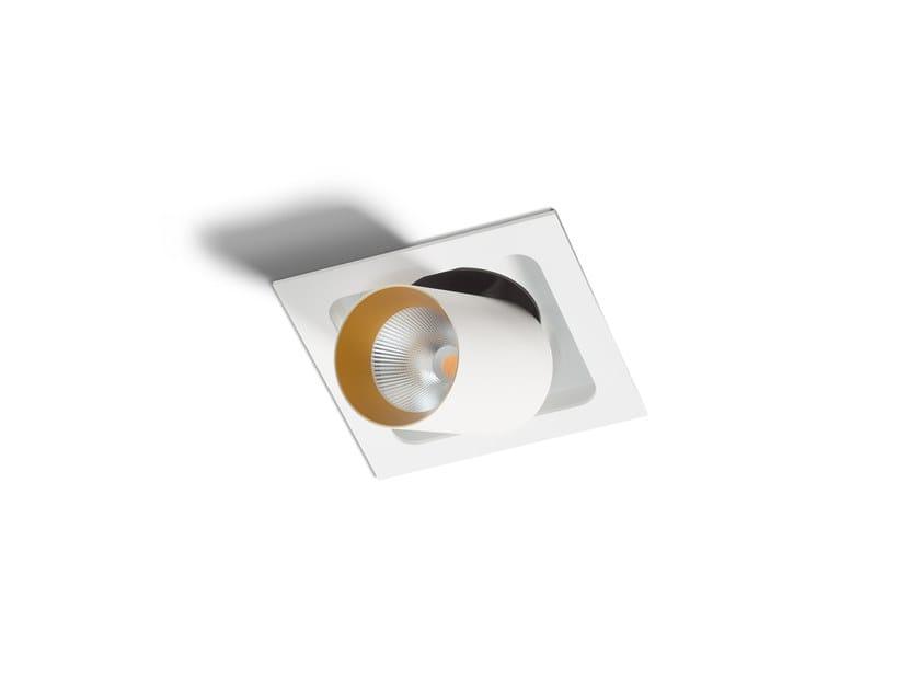 LED semi-inset spotlight PICCOLO BOGD FRAME SINGLE by Orbit