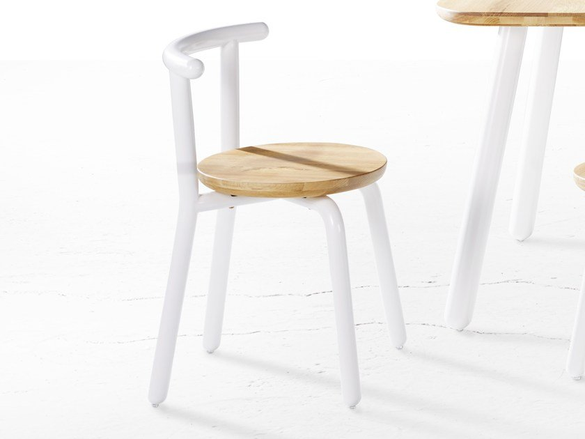 Wooden chair PICKET | Chair by Derlot Editions