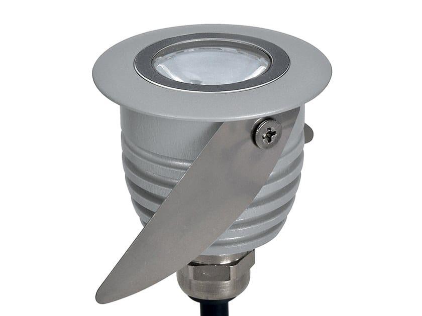 Faretto per esterno a LED in acciaio inox da incasso PICO by Aldabra