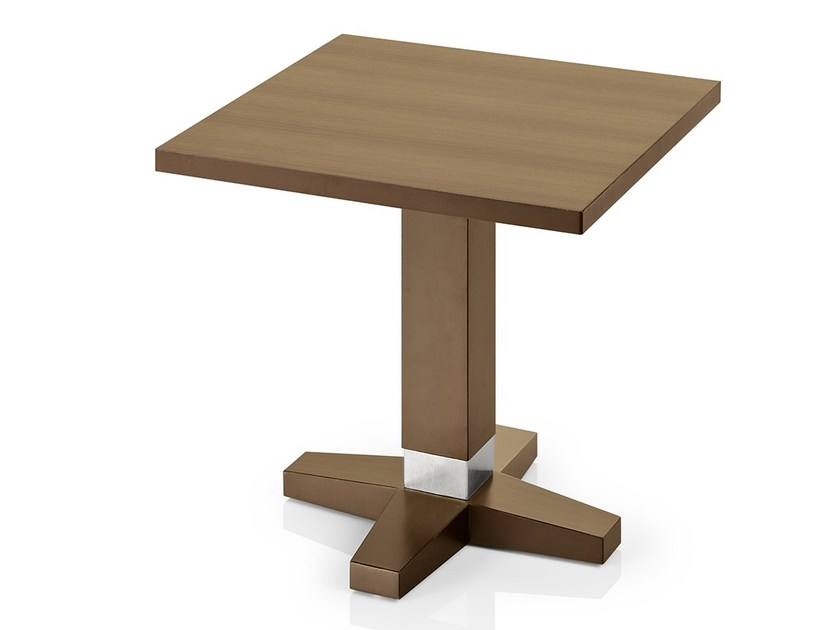 Square wooden coffee table PICO | Coffee table by JMS