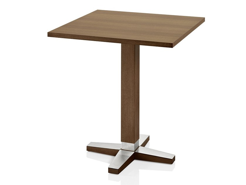Square wooden table PICO | Square table by JMS