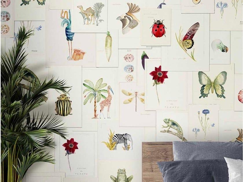 Papel de parede ecológico de tecido não tecido PICTIONARY by Wallpepper Group