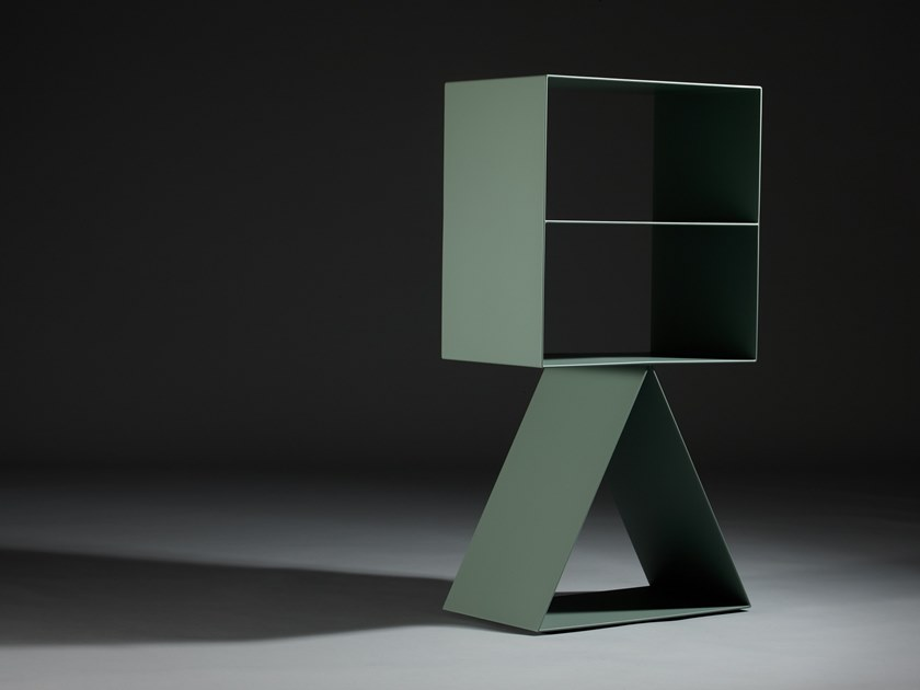 Double-sided metal bookcase PICTO | Bookcase by ZENS Lifestyle