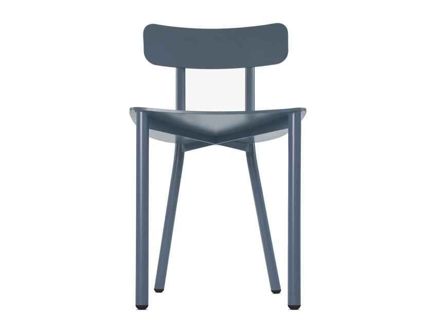 Sedia in alluminio con schienale aperto PICTO by STIP