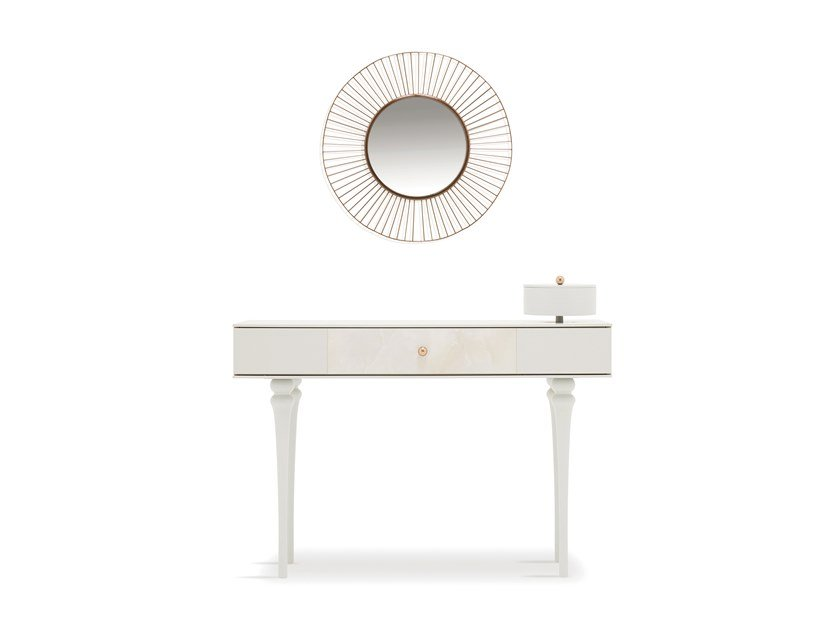 Rectangular console table with drawers PIEDRA | Console table by Enza Home