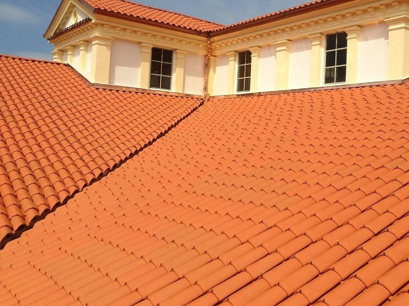 Quarry bent roof tile PIEMONTE | Bent roof tile by Terreal SanMarco