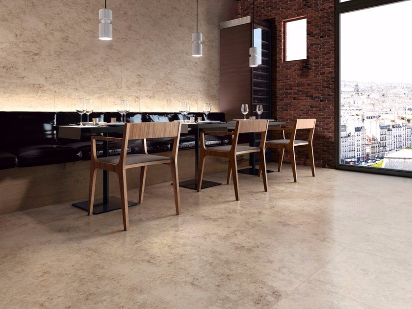 Porcelain stoneware wall/floor tiles with stone effect PIETRE DI PARAGONE by Casalgrande Padana