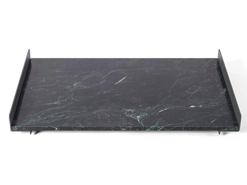 Vassoio rettangolare in marmo PIETRA L 03 by Salvatori