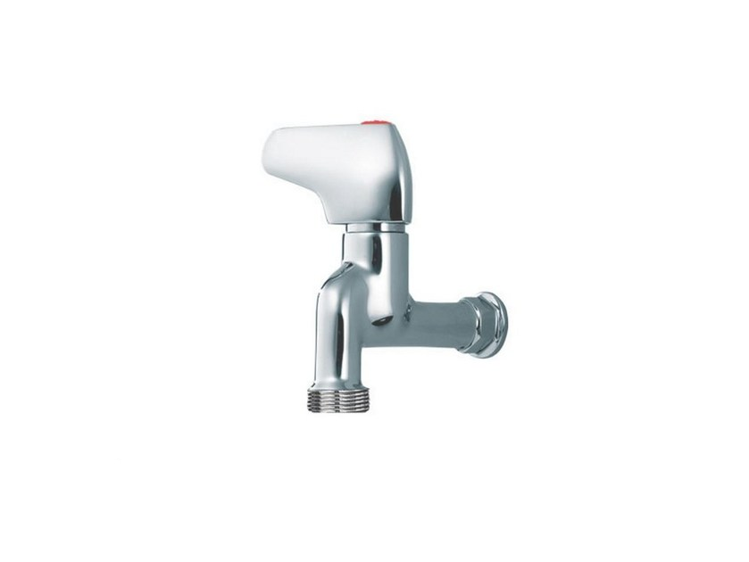 Wall-mounted 1 hole washbasin tap PILE & FACE | Wall-mounted washbasin tap by rvb
