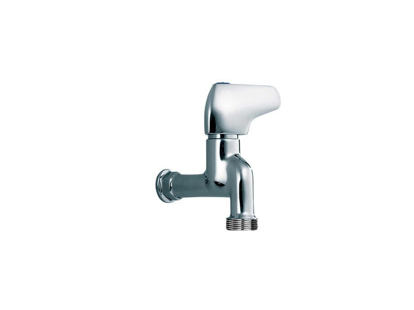 Wall-mounted 1 hole washbasin tap PILE & FACE | Washbasin tap by rvb