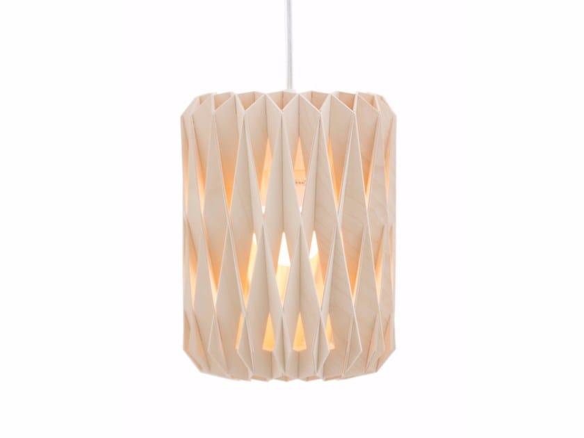 Plywood pendant lamp PILKE 18 by SHOWROOM Finland