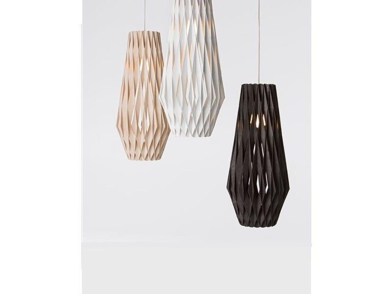 Plywood pendant lamp PILKE 30/70 | Plywood pendant lamp by SHOWROOM Finland