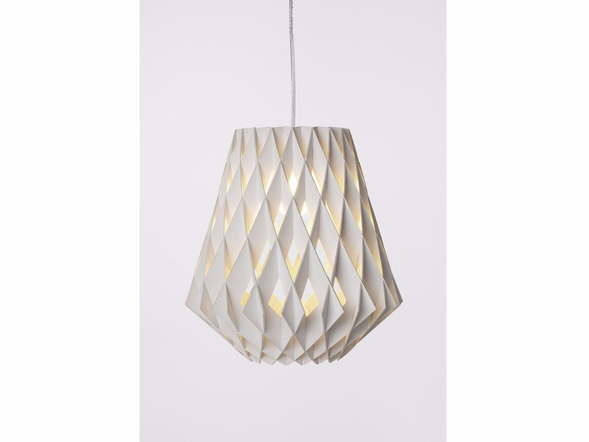 Plywood pendant lamp PILKE 36 by SHOWROOM Finland