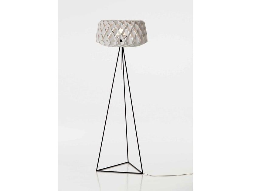 Wooden Floor Lamp Pilke 60tripod By Showroom Finland Design Tuukka
