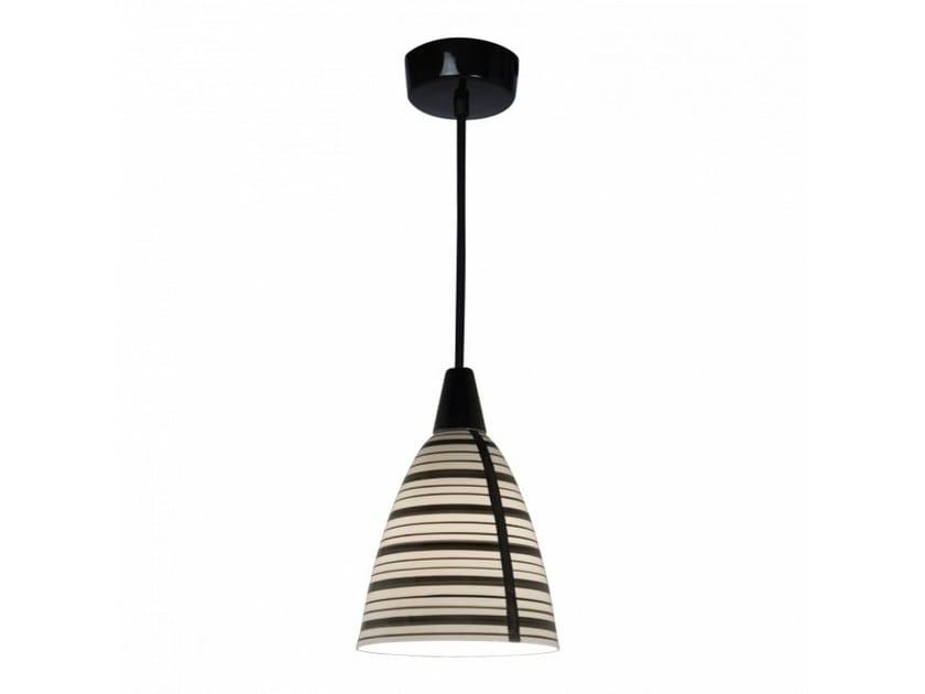 Porcelain pendant lamp with dimmer CIRCLE LINE | Pendant lamp by Original BTC