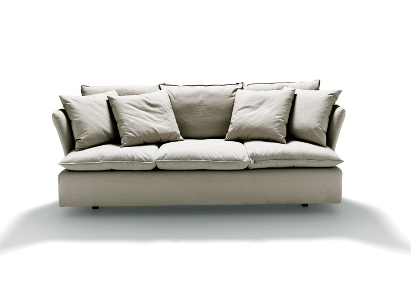 Fabric sofa with removable cover PILLOW By DE PADOVA design Vico ...