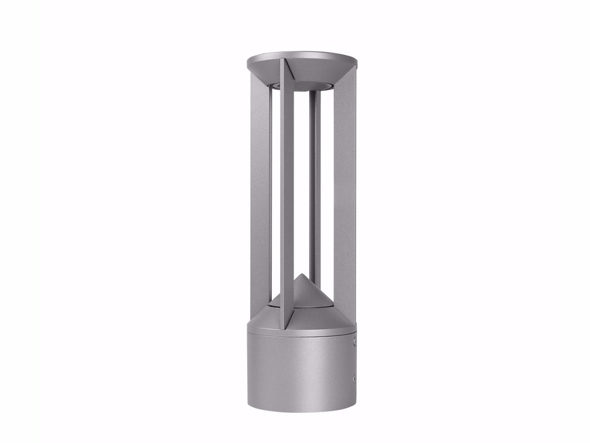 LED aluminium bollard light PILOS_2 by Linea Light Group