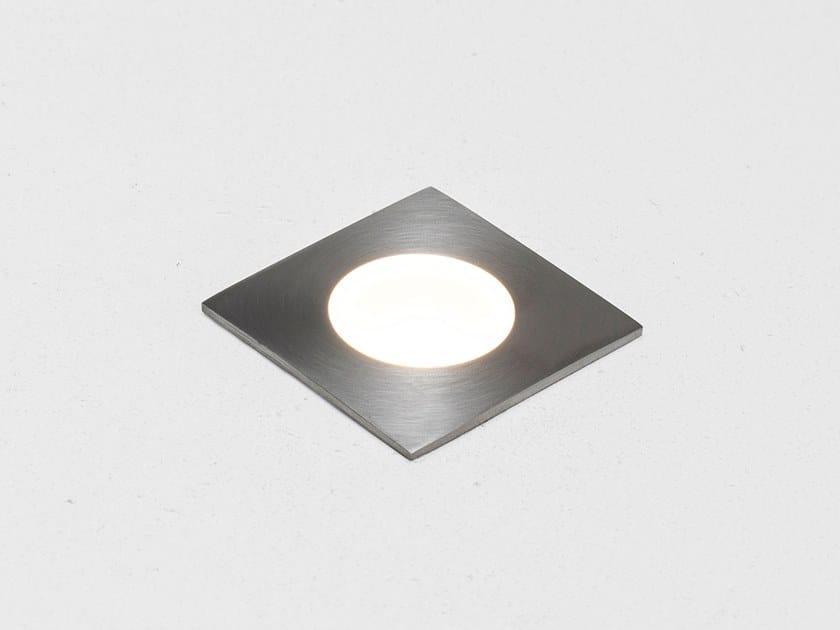 Segnapasso a LED in acciaio inox per esterni PILOT C by HER