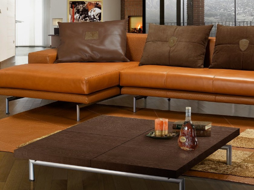 Low square coffee table for living room PILOT | Coffee table by Tonino Lamborghini Casa