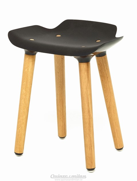 Sgabello Milan Legno In Stool Quinzeamp; Basso Pilot mwvn0y8ON