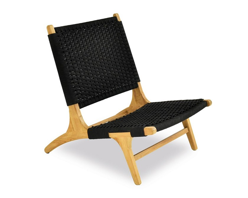 Rope deck chair PIMLICO | Deck chair by Indian Ocean