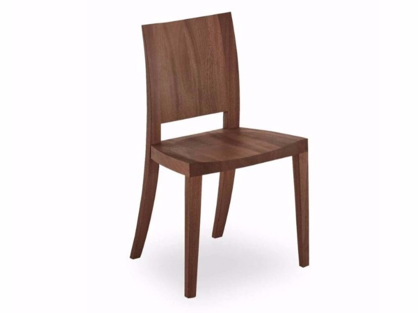 Wooden chair PIMPINELLA WOOD by Riva 1920